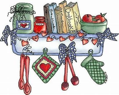 Kitchen Clipart Country Clip Cookbook Recipe Mamietitine