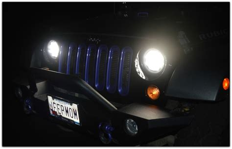 Jeep Momma Blog My New Headlights At Night