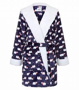 Robe De Chambre Ado Fille : robes de chambre ados peignoirs fille new look ~ Teatrodelosmanantiales.com Idées de Décoration