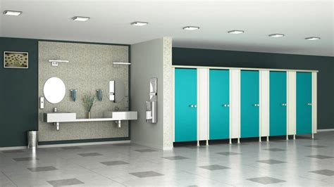 vibrance modular bathroom partitions system commercial