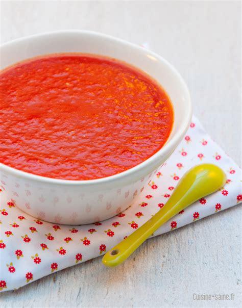 recette de cuisine bio recette bio coulis de tomate express cuisine