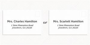wedding invitation etiquette how to address wedding With wedding invitation etiquette to widow