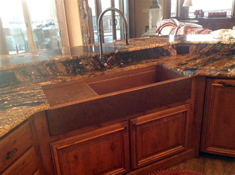 copper kitchen sink pros and cons photos of copper kitchen sinks loccie better homes 9460