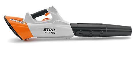 souffleur de feuilles stihl 224 batterie bga 100 tr 232 s puissant val 233 motoculture