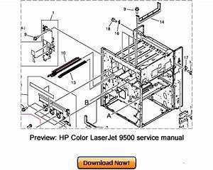 Hp Color Laserjet 9500n 9500hdn Service Repair Manual Download