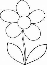 Flower Coloring Draw Daisy Flowers Drawing Simple Pages Drawings Colornimbus Mosaic Clipart Cliparts Clip Easy Daisies Library Sunday Colorful Getdrawings sketch template