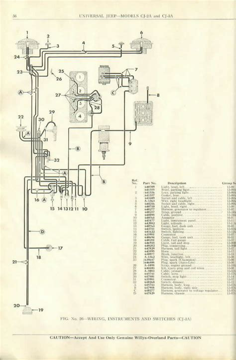 6 Volt Autolite Generator Wiring Diagram by Electrical Parts