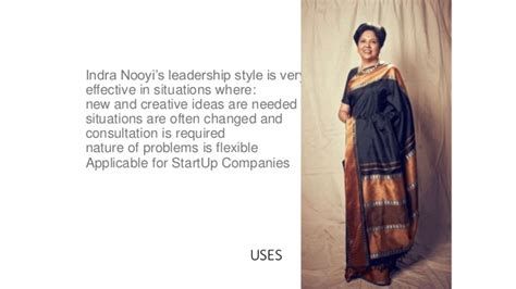 leadership theory leadership style indra nooyi