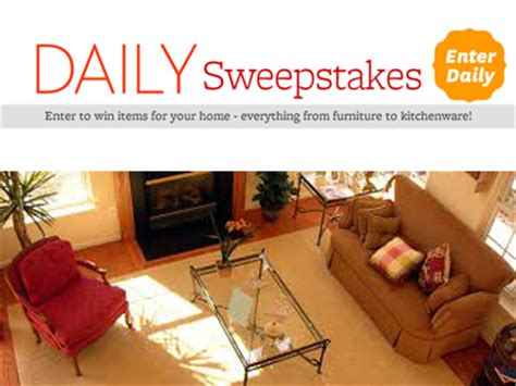 win bhg better homes and gardens daily sweepstakes