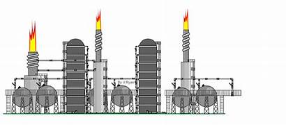 Refinery Oil Crude Distillation Process Place