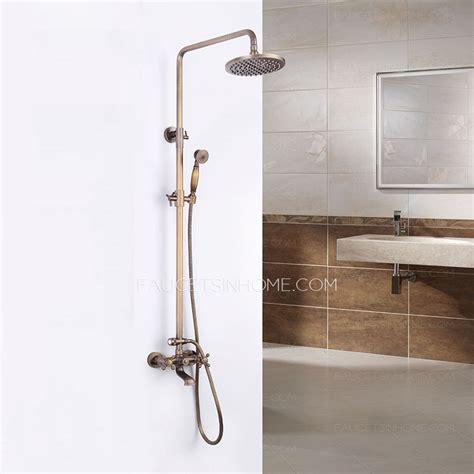 antique bronze kitchen faucet antique bronze 2 handle brass outdoor shower faucets