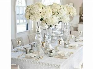 Décoration Mariage Rouge Et Blanc : decoration salle de mariage blanc et argent mariage toulouse ~ Melissatoandfro.com Idées de Décoration