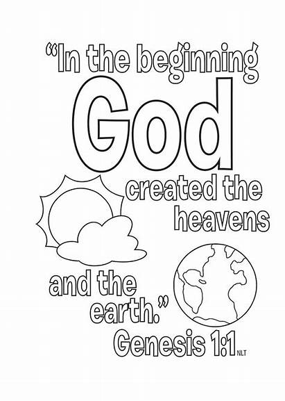 Bible Coloring Printable Stories Story Sheets Children