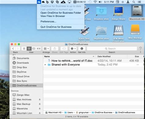 dropbox for iphone look the new onedrive for mac iphone and