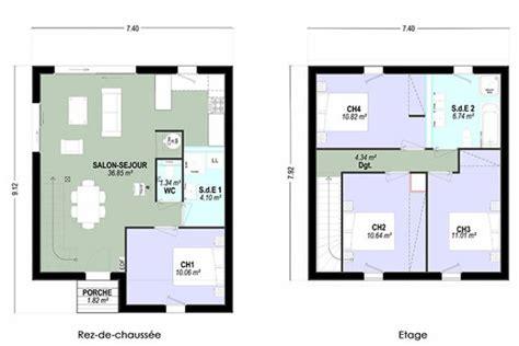 etag e bureau plan maison a etage 4 chambres 13 individuelle c t tage