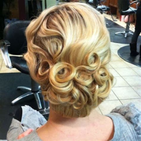 Finger Wave Updo Hairstyles by White Hair Finger Waves Updos Hairstyles Wedding