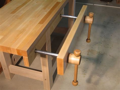 woodworking bench vice acting vise reinvented new design by len hovarter