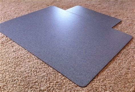 mission critical esd chair mat for carpet