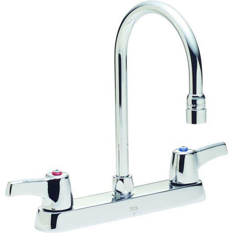 kitchen faucet spout delta commercial 2 handle standard kitchen faucet with