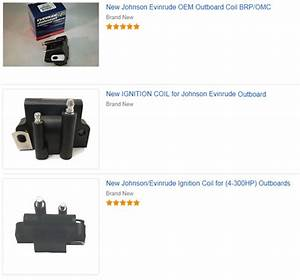 Ignition Coil Evinrude Outboard