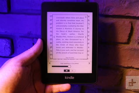 kindle paperwhite 2018 review digital trends