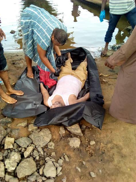 body  man  floating  volta lake starr fm