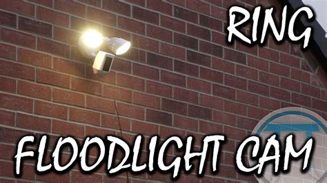 ring floodlight cam installation  review youtube