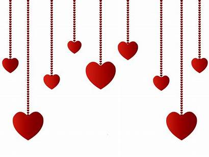 Clipart Decorative Hearts Transparent Hanging Decoration Valentines