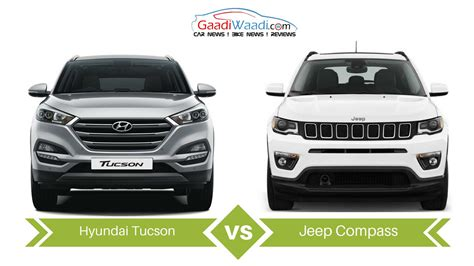 tucson jeep jeep compass vs hyundai tucson specs comparison