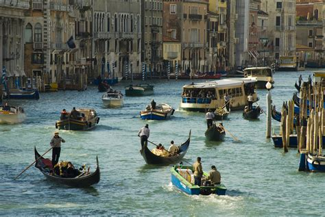 Boats Venice by Venice Steps Away From Using Gas Guzzling Boats