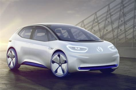 meet  vw id electric car   mile range