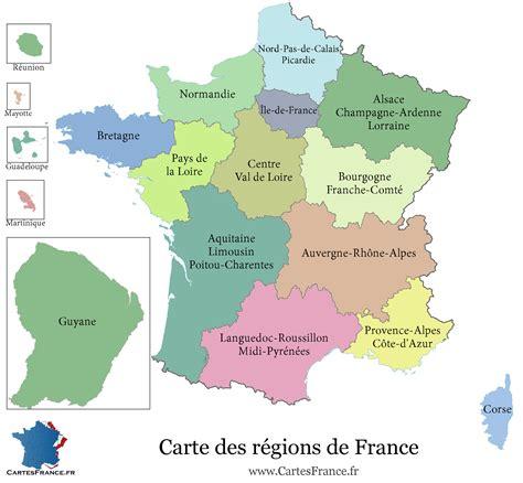 Carte De Par Departement 2018 by Carte Des R 233 Gions De 2017 Carte 2018