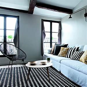 salon gris toutes les nuances d39une couleur intemporelle With quelle couleur avec du gris clair 3 deco cuisine sejour salon