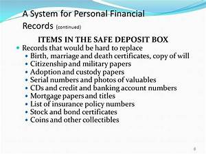money management strategy financial statements and With financial documents safe