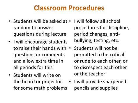 The Ideal Classroom Environment
