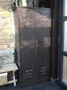 Casier Industriel Metal : ancien casier vintage creayode ~ Teatrodelosmanantiales.com Idées de Décoration