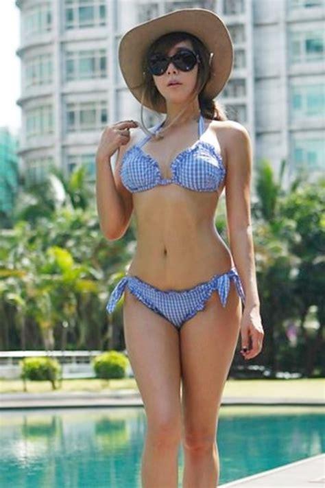 정다연 여름맞이 비키니 셀카 '162cm 48kg 몸매 자신감