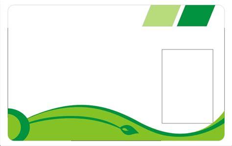 background id card hijau  background check