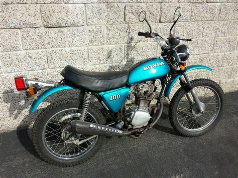 Honda Sl100 K3 Dirt Bike Enduro Vintage Motorcycle