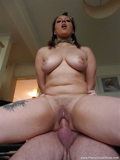 Chubby Girl Riding Cock