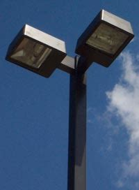 commercial parking lot light pole kits packages