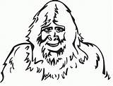 Bigfoot Coloring Pages Sasquatch Finding Foot Designlooter Templates Popular Sketch Drawings 1094 842px 59kb Coloringhome 79kb 230px sketch template