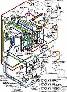 2005-2006 Lgt Colored Vacuum Routing Diagram
