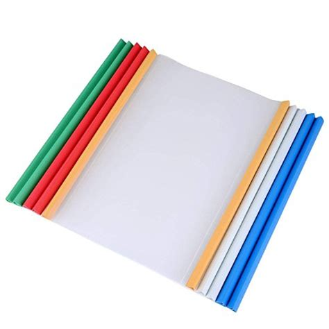 Resume Binder by 10pcs Clear Report Covers With U Type Sliding Bar 40