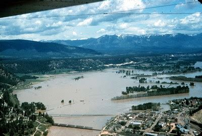 historic  bonners ferry floods  spokesman review