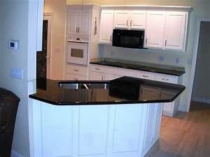 Black galaxy granite kitchen photos