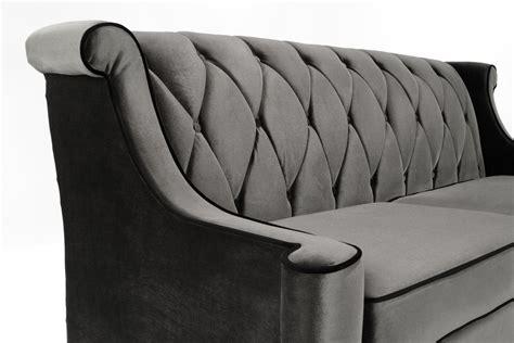 Armen Living 844 Barrister Sofa by Armen Living Barrister Sofa Fresh Stunning Grey Velvet