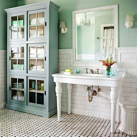Cottage Style Bathrooms & A Blog Makeover  The Inspired Room