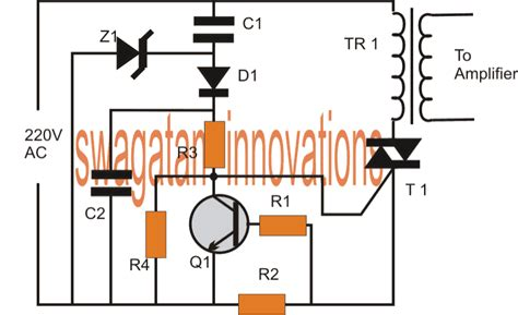 Short Circuit Protector For Power Amplifiers