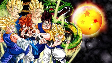 cool dragon ball  wallpapers wallpaper cave